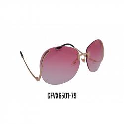 GAFAS VIROX LENTE ROSA REDONDO MARCO METALICO GFVX6501-79