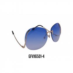 GAFAS VIROX LENTE AZUL REDONDO MARCO METALICO GFVX6501-4