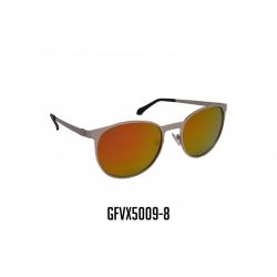 GAFAS VIROX MARCO PLATEADO LENTE NARANJA GFVX5009-8