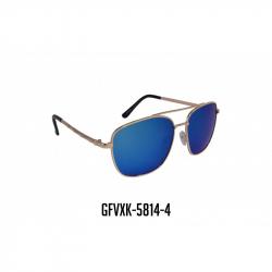 GAFAS VIROX MARCO METALICO POLARIZADA LENTE AZUL GFVXK-5814-4