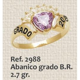 ANILLO DE GRADO ABANICO...