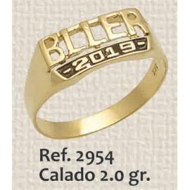 ANILLO DE GRADO CALADO DE...