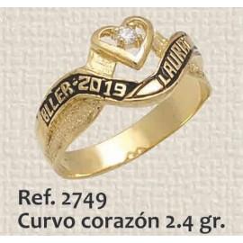 ANILLO DE GRADO CORAZON...