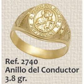 ANILLO DE HOMBRE CONDUCTOR...